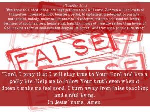 2 Timothy 3: 1-5
