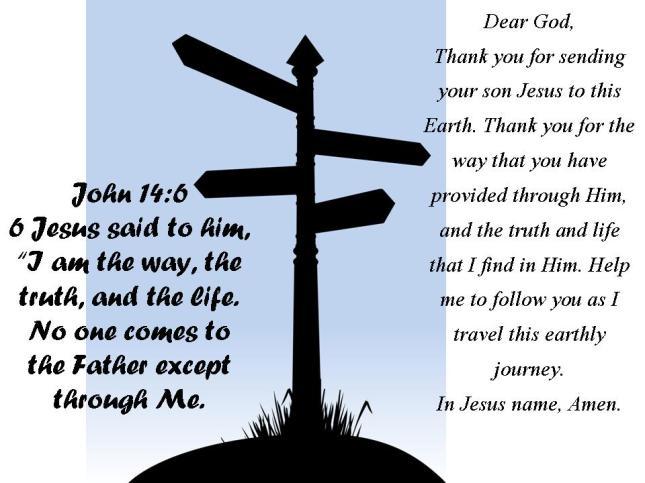Where Am I Going? John 14:6