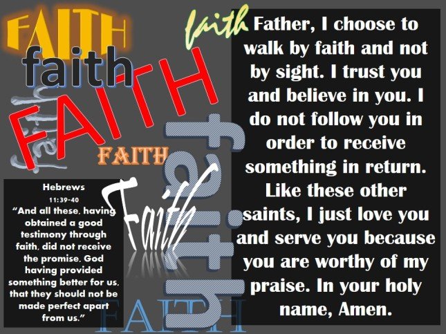 The Hall of Faith: Hebrews 11:39-40