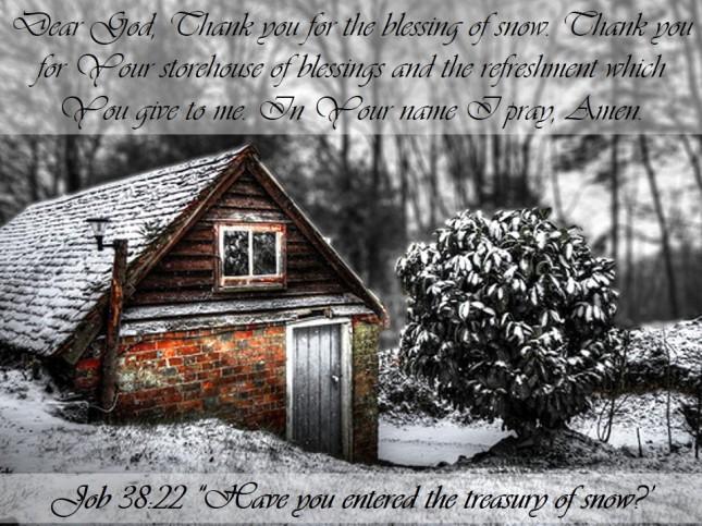 God's Storehouse of Blessing